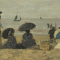 The Beach by Eugene Boudin