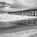 The Beach Pier by David Millenheft