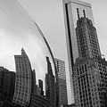 The Bean Reflecting Chicago Skyline by James Udall