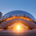 The Bean Sunrise  by Michael Ver Sprill