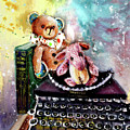 The Bear And The Sheep And The Typewriter From Whitby by Miki De Goodaboom
