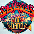 The Beatles Sgt. Pepper's Lonely Hearts Club Band Logo Painting 1967 Color by Tony Rubino