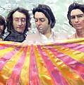 The Beatles. Watercolor by Lyriel Lyra
