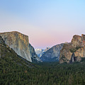 The Beautiful Tunnel View Of Yosemite by Chon Kit Leong