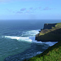 The Beauty Of Ireland's Cliff's Of Moher And Galway Bay  by DejaVu Designs