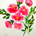 The Beauty Of Peonies by Jennilyn Villamer Vibar