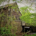 The Beauty Of The West Point On The Eno Grist Mill - Durham, N.c. by Sandra Bennett