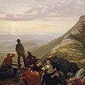 The Belated Party On Mansfield Mountain by Jerome B Thompson