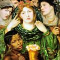 The Beloved 1865 by Dante Gabriel Rossetti