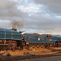 the Big Blue Engines  by Ian White