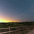 The Big Dipper Over The Lights Of Provincetown Ma by Toby McGuire