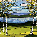 The Birches  by Elizabeth Robinette Tyndall
