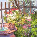 The Bird Bath by Rhett Regina Owings