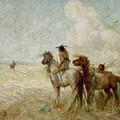 The Bison Hunters by Nathaniel Hughes John Baird