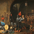 The Bivouac by David Teniers the Younger