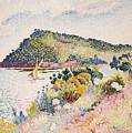 The Black Cape Pramousquier Bay by Henri-Edmond Cross