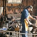 The Blacksmith by Ron Kizer