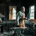 The Blacksmith - Smith by Gary Heller