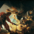 The Blinding Of Samson by Rembrandt