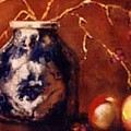 The Blue And White Vase by Jordana Sands