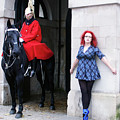 The Blue Ballet Shoes And The Queen's Horse Guard by Toula Mavridou-Messer