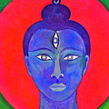 The Blue Buddha by Jennifer Baird