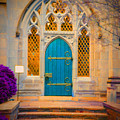 The Blue Door by Jost Houk