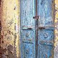 The Blue Doors Nubian Village by Debbie Oppermann