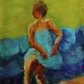 The Blue Dress by Katherine Cobb