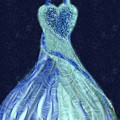 The Blue Dress by Vanesse Smal
