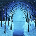 The Blue Forest by Sneha