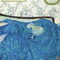 The Blue Gown, 1917  by Frederick Carl Frieseke