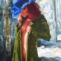 The Blue Hat by Sergey Ignatenko