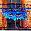 The Blue Mask by Frances Ann Hattier