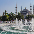 The Blue Mosque Istanbul by Mo Barton