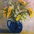 The Blue Pitcher by Susan Lang