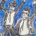 The Blues Brothers by Geraldine Myszenski