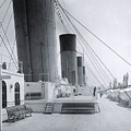 The Boat Deck Of The Titanic by The Titanic Project