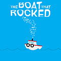 The Boat That Rocked Poster by Onur KURT
