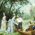 The Boating Party by Antonio Garcia Mencia