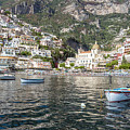 The Boats Of Positano  by Matt Swinden