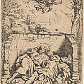 The Bodies Of Saints Peter And Paul by Claude Vignon
