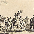The Bohemians Marching: The Vanguard by Jacques Callot