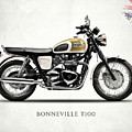 The Bonneville T100 by Mark Rogan