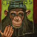 The Book Of Chimps by Leah Saulnier The Painting Maniac