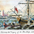The Boston Tea Party, 1773 by Granger