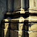 The Bottom Of The Pillar Of The Old Building by Jozef Jankola