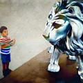 The Boy And The Lion 10 by Jean Francois Gil