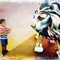 The Boy And The Lion 11 by Jean Francois Gil