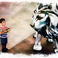 The Boy And The Lion 9 by Jean Francois Gil